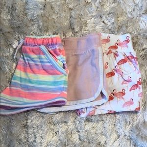 Set of 3 Cotton Pull-on Shorts